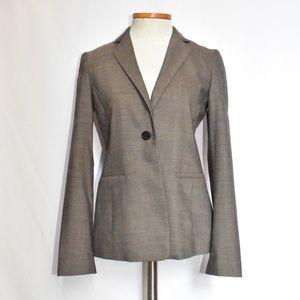 Classic Elie Tahari brown wool blazer sz 0